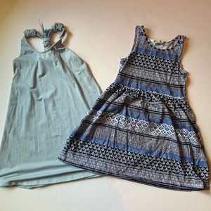 Bundle of two dresses H&M + Poof sz S
